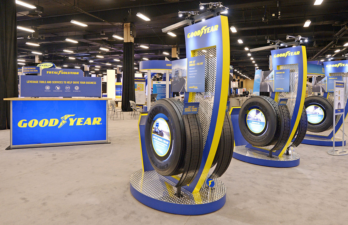 Goodyear Trade Show Tire Modules