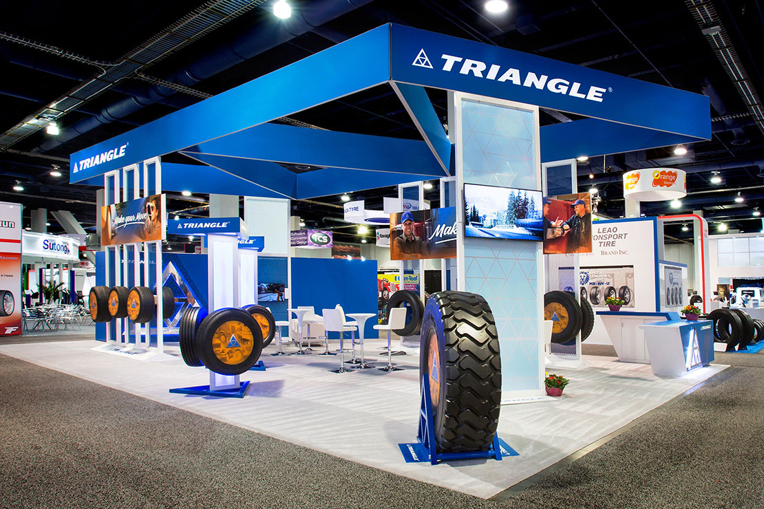 Triangle Trade Show Booth