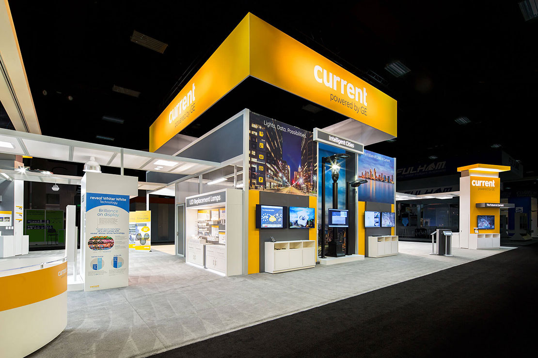 Current - Powered by GE - Trade Show Exhibit