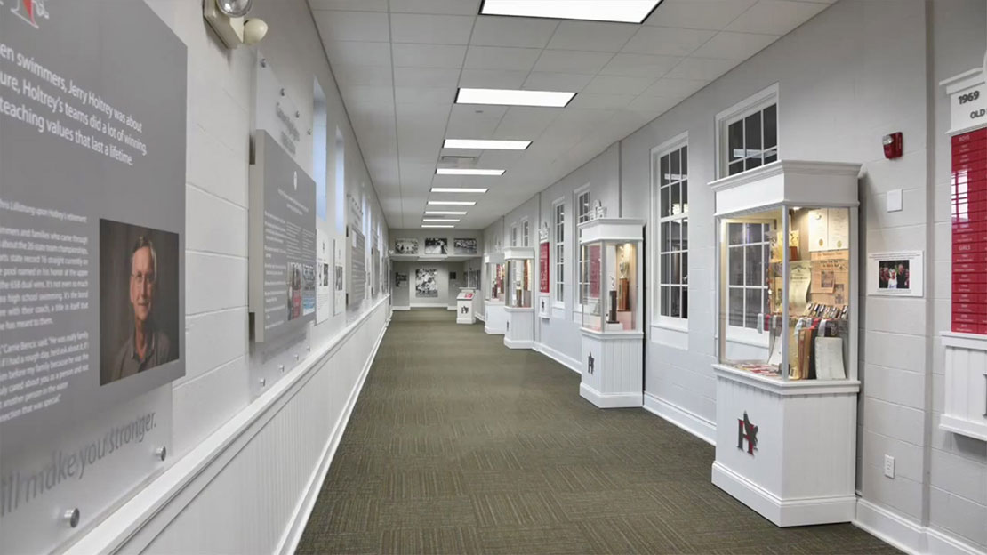 Hawken School - Holtrey Swim Hall - Exhibit