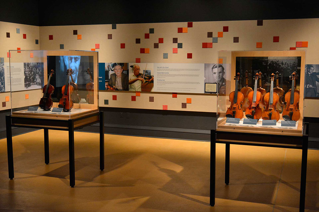 Maltz Museum - Violins of Hope Exhibit