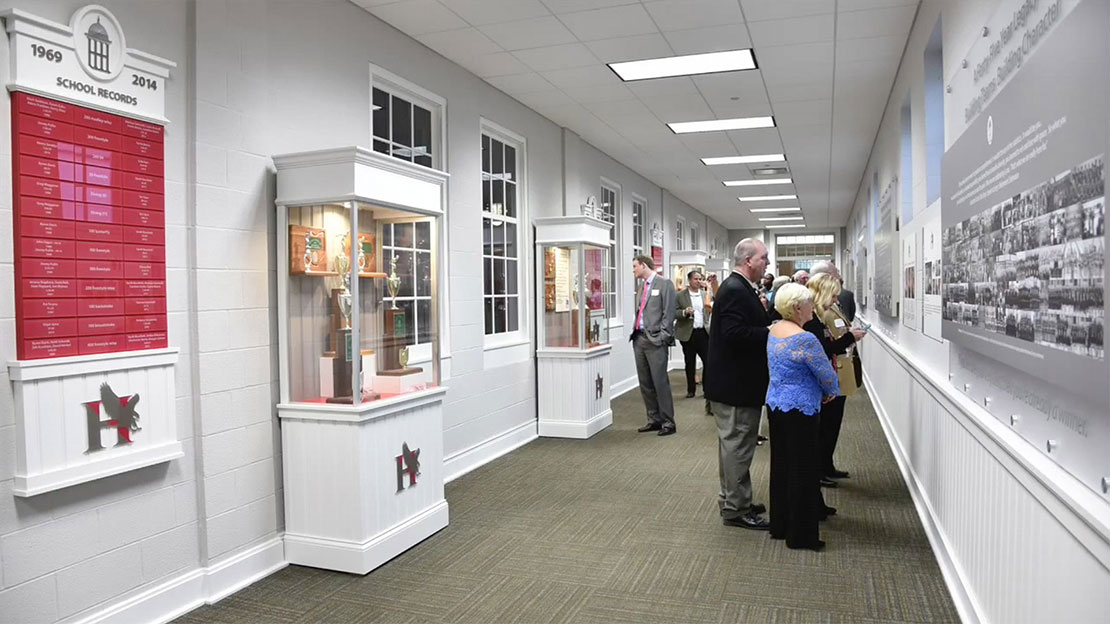 Holtrey Swim Hall of Fame Exhibit