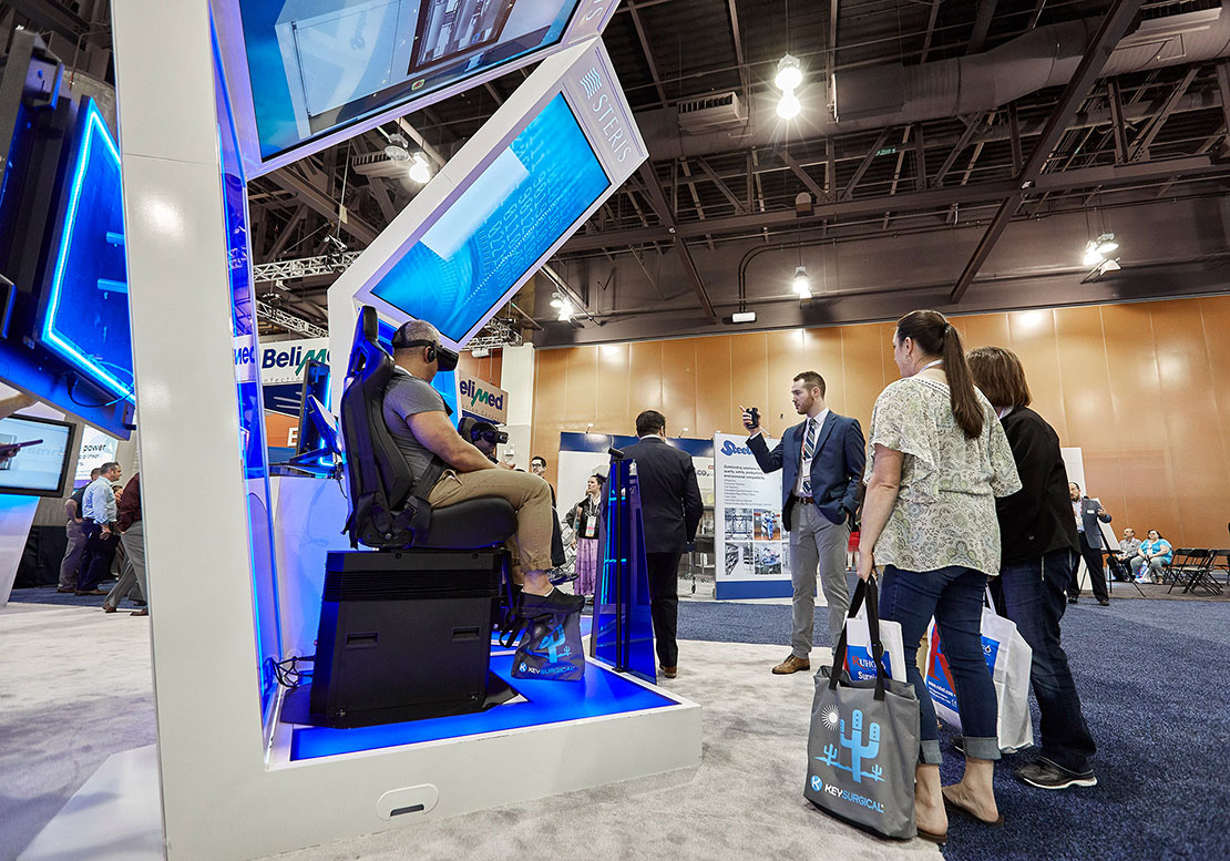 VR Motion Chair Booth