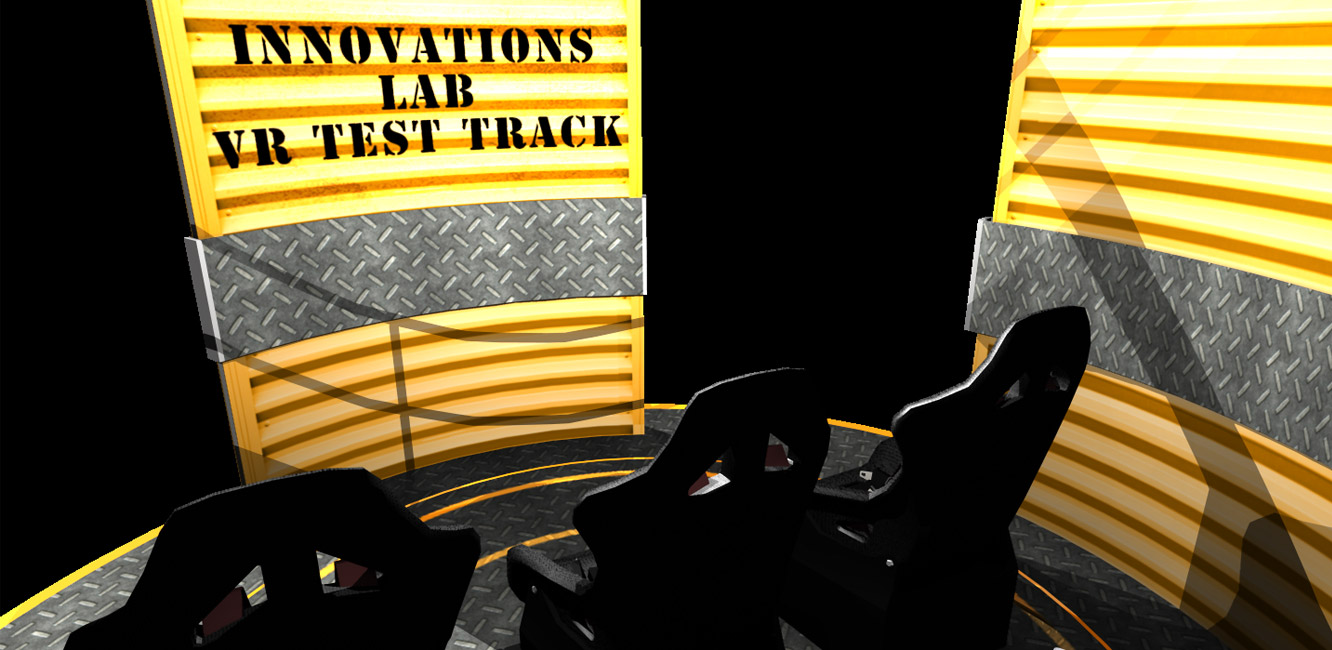Innovations Lab VR Test Track
