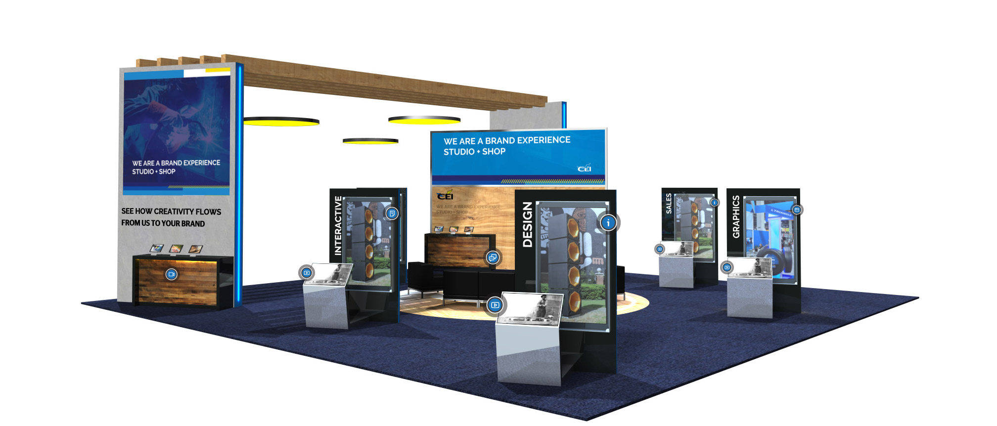 CEI Virtual 3D Event