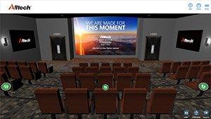 Alltech Virtual Event Auditorium